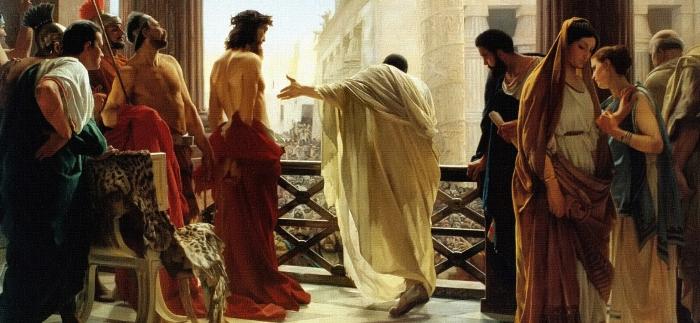 JesusBeforePilate